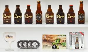 Belgibeer: Een degustatiebox van ambachtelijke Belgische bieren voor € 29,99 met Belgibeer