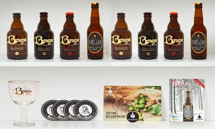 Une box dégustation de bières artisanales belges à 29,99 € avec Belgibeer