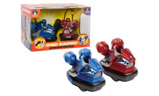 Blue Hat Toy Company R/C Speed Bumper Cars!