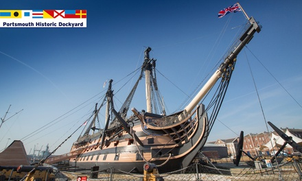 Full Navy Ticket Annual Pass at Portsmouth Historic Dockyard