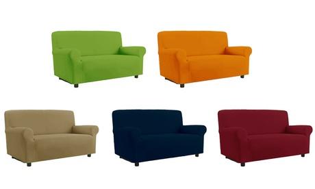 Copridivano antimacchia elasticizzato per divani fino a 4 posti disponibili in dieci colori