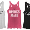 Chin Up Apparel Wedding Party Tanks