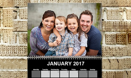 .99 for a Personalised A4 Yearly Calendar, Redeemable Online Don't Pay Up to $104.97