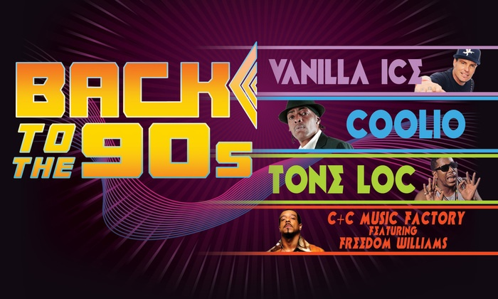 Back To The 90s Feat Vanilla Ice Coolio Tone Loc And Cc Music Factory
