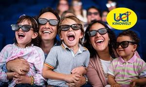 UCI KINOWELT: 5 Kinogutscheine für alle 2D-Filme inkl. Filmzuschlag und Loge in der UCI KINOWELT (49% sparen*)