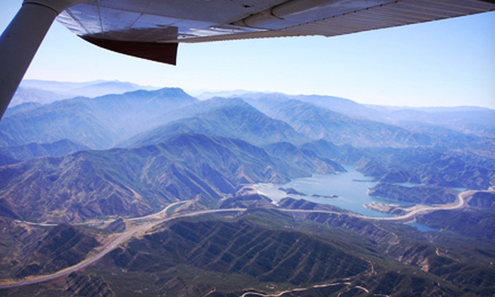 FCI Aviation - Oxnard: 25- to 30-Minute Coastal Flight Tour for One, Two, or Three from FCI Aviation (Up to 62% Off)