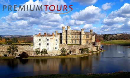 Leeds Castle Private Tour with Canterbury, Dover and Greenwich Tour Plus Cruise from Premium Tours (Up to 50% Off) (Essex)