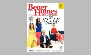 Better Homes Gardens Magazine Groupon Goods