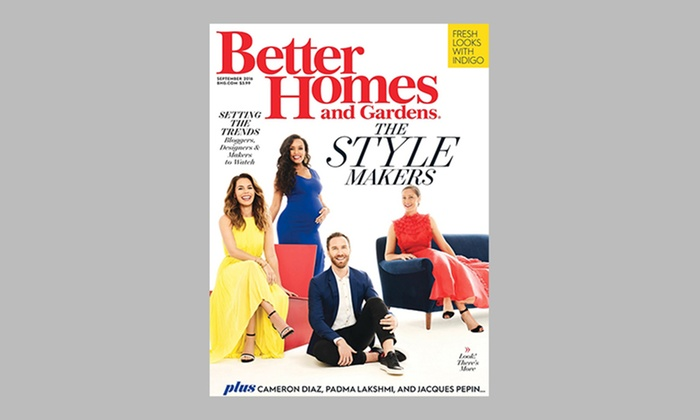 Better Homes Gardens Magazine Groupon Goods