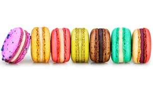 Napoléon's Macarons: Gift Box of Six Assorted Macarons at Napoléon's Macarons