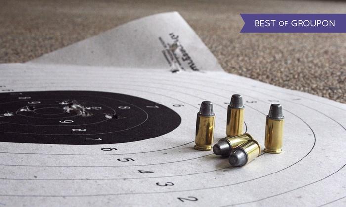 Strzelnica 17-tka - strzelnica 17-tka: 1-godzinne wejście na strzelnicę z nieograniczoną ilością amunicji za 24,99 zł i więcej opcji na Strzelnicy 17-tka