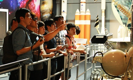 Admission for Two Adults or Two Adults and Two Children to Space Foundation (Up to 50% Off)