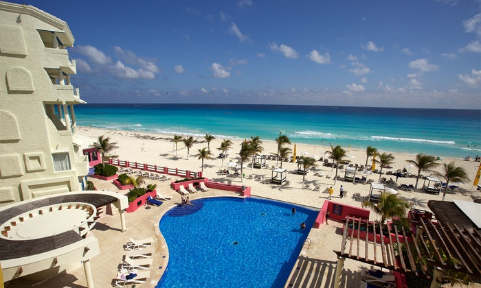 All-Inclusive Hotel NYX Cancún Stay with Air from Travel by Jen