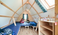 The Trossachs: 2 or 3 Night Glamping for 2 Adults or for up to 2 Adults and 3 Children at Mains Farm Wigwams