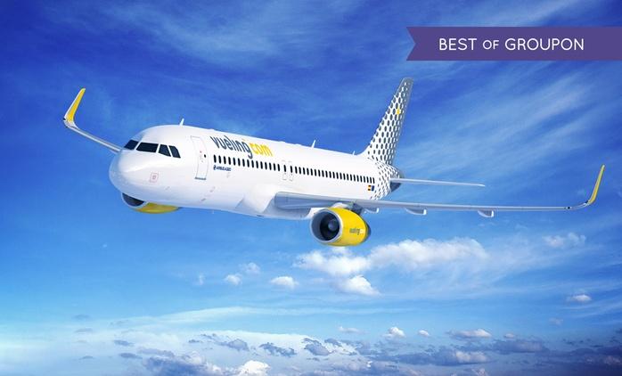 Descuentos de 20€ o 40€ por pasajero para vuelos de ida y vuelta con Vueling Airlines