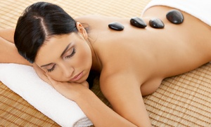 $103 For A Hot-stone Massage Package With Face Treatment And Foot Scrub At Magical Massage ($205 Value)