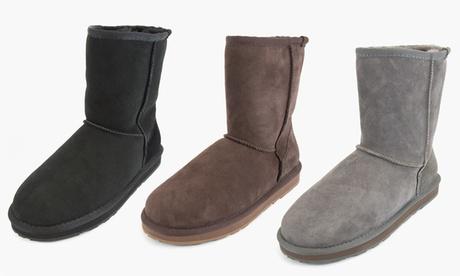Botas de piel de oveja