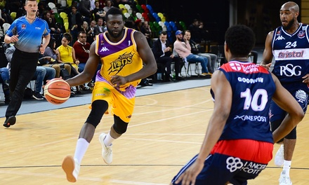 Choice of London Lions Basketball Match, 2 February–21 April at The Copper Box Arena