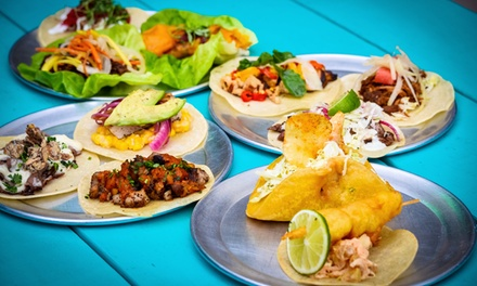Tacos, Latin-Inspired Bar Food, Beer, and Mixed Drinks at Gio Taco (Up to 45% Off). Two Options Available.