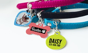 Up to 65% Off Personalized Pet Tags at Photobook America, plus 9.0% Cash Back from Ebates.