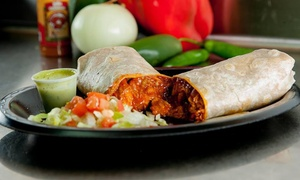 Bonita's Burritos: $18 for Three Groupons, Each Good for $10 Worth of Mexican Food at Bonita's Burritos ($30 Total Value)