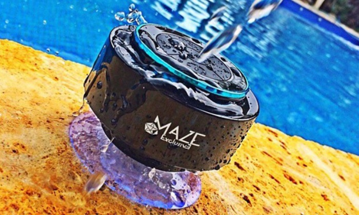 Maze Exclusive Floating Waterproof Portable Bluetooth