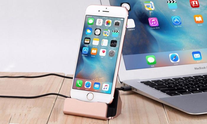 Base di ricarica per iPhone