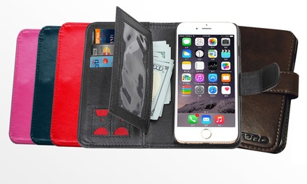 $15 for a Phone Case Wallet with Car Holder for iPhone 6/6 Plus Don't Pay $25