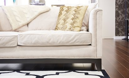 Up to Four Sofa Seat Cleaning from Too Clean LLC