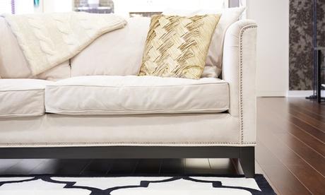 Limpieza tapicería de sofá a domicilio de hasta 2 o 4 plazas desde 34,95 € con Lo Hacemos Todo