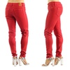 Dylan George Women's Colorful Mid Rise Skinny Jeans (Size 29)