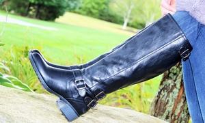 Intaglia Women's Valencia Extra-Wide Calf Riding Boots