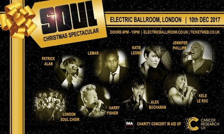 Soul Christmas Spectacular, 10 December at Electric Ballroom (Up to 41% Off)