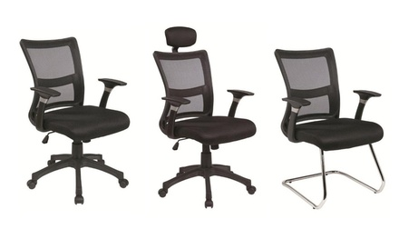 Ergonomic Multifunction Mesh Chairs in Three Designs from AED 469 (Up to 42% Off) with Free Delivery