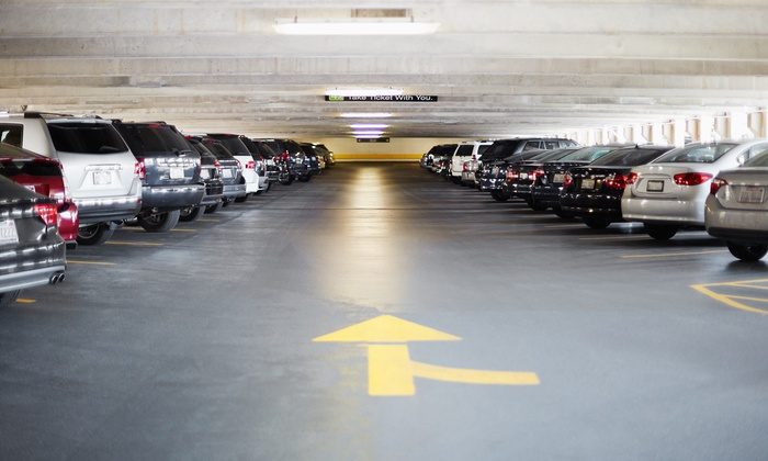 24hrs or One Month of Parking at ABM Parking Services - Times Square (Up to 43% Off)