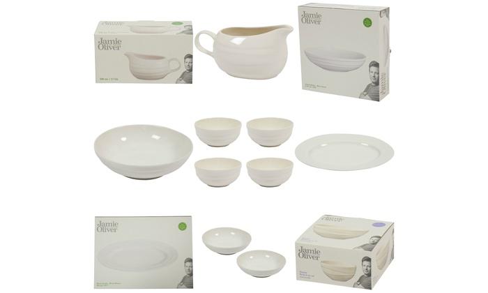Groupon Goods Global GmbH Jamie Oliver Porcelain Wave Dinnerware ...  sc 1 st  Groupon & Up To 70% Off Jamie Oliver Porcelain Dinnerware   Groupon