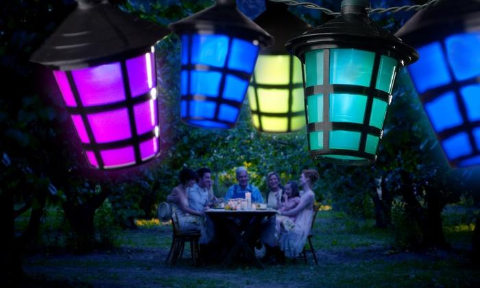 Groupon Goods Global GmbH: 1 o 2 conjuntos de 20 o 40 luces LED de colores desde 23,99 € (hasta 34% de descuento)