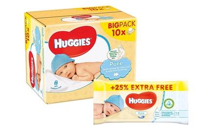 1440 salviette Huggies Pure