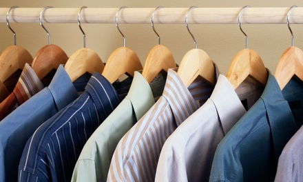 Dry Cleaning at Excellent Cleaners (Up to 52% Off)
