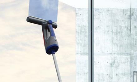 Aspirador limpiacristales eléctrico con mango extensible 3 en 1 Eco-De