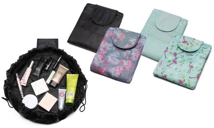Travel Drawstring Make-Up Bag