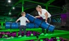 Adult and Toddler Trampolining