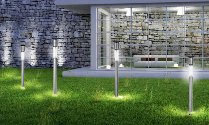 set lampioncini da giardino groupon goods