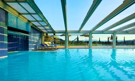 Casole d'Elsa: 1 o 2 notti per 2 persone con colazione, Spa, prosecco, massaggio e cena presso Relax Hotel Aquaviva 4*