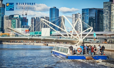 90Minute Summer Twilight Cruise for One Child $20 or One Adult $30 with Melbourne River Cruises Up to $45 Value