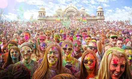 $22 for Holi Festival of Colors for 2 with 10 Bags of Colors on Saturday, March 3 ($36.50 Value)