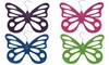 Evelots Butterfly Scarf Hangers (2-Pack): Evelots Butterfly Scarf Hangers (2-Pack)