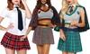 Leg Avenue Women's School Girl Costumes. Multiple Styles Available.