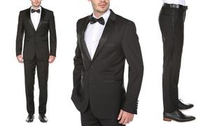 Gino Vitale Men's Classic or Slim-Fit Notch Lapel Tuxedo
