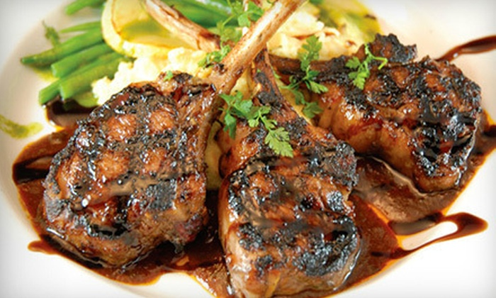 Terrazzo Ristorante Bar and Grill - Mississauga: International Meal for Two or Four or $25 for $50 Worth of International Cuisine at Terrazzo Ristorante Bar and Grill
